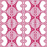 Seamless heart romantic pattern background Royalty Free Stock Images