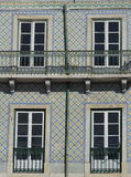 Tiled house facade, Lisbon Royalty Free Stock Photo