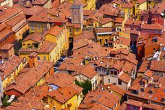 Tiled houses Royalty Free Stock Photography
