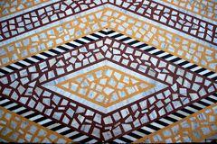 Tiled Marble Floor Pattern Royalty Free Stock Images