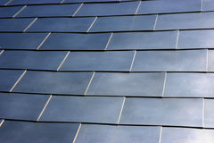Tiled metal background Royalty Free Stock Photo