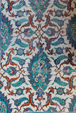 Tiled mosaic wall Royalty Free Stock Photo