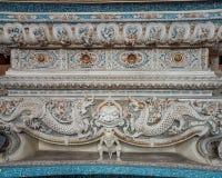 Detailed art work at the Erawan Museum, Bangkok, Thailand stock photo