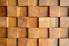 Free Tiled Old Teak Wood Texture Wall Background For Design And Decoration. Texture Of Wood Background Closeup. Stock Image - 112905841