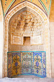 Tiled oriental ornaments from mosque Stock Photos