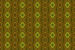 Tiled pattern from a close-up of an autumn leaf. stock image