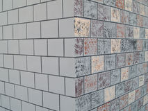 Tiled Patterned Wall Stock Photos
