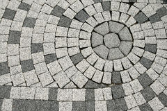 Tiled pavement Stock Photos