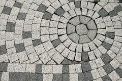 Tiled pavement Stock Photos