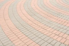 Tiled Pavement Royalty Free Stock Photo
