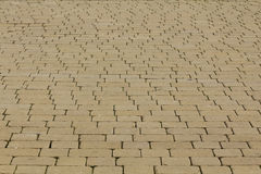Tiled pavement Royalty Free Stock Image