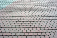 Tiled pavement Stock Photography