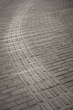 Tiled pavement in China Stock Images