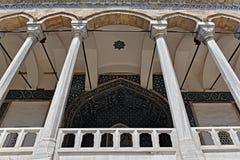 Tiled Pavillion. At the topkapi palace Stock Photography