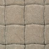 Tiled with paving stone bricks path Royalty Free Stock Image