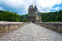 Tiled road Royalty Free Stock Images