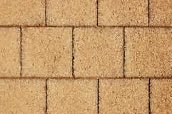 Tiled rocky floor. Tiled rocky brick floor Stock Photography