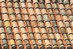 Tiled roof Royalty Free Stock Image