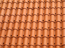 Tiled roof. Stock Photos