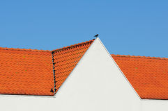 Tiled roof Royalty Free Stock Photography
