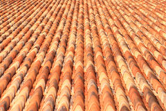 Tiled roof Royalty Free Stock Images