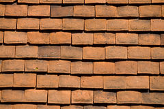 Tiled roof background Stock Photo