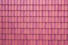 Tiled roof for background Stock Photos