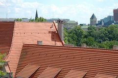 Tiled roof Royalty Free Stock Photos