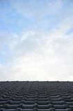 Tiled Roof Stock Photo