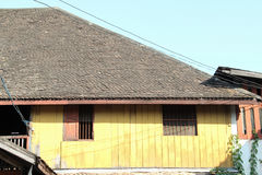Tiled roof Stock Photography