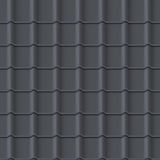Tiled roof seamless pattern Stock Photos