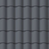 Tiled roof seamless pattern Royalty Free Stock Images