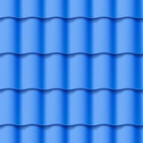 Tiled roof seamless pattern Stock Photography
