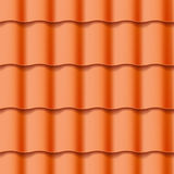 Tiled roof seamless pattern Stock Image