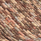 Tiled roof texture. #1. Old tiled roof texture. #1 stock images