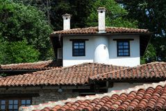Tiled Roof of the White House Royalty Free Stock Photos