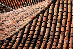 Tiled roofs Royalty Free Stock Photos