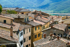 Tiled rooftops Stock Photography