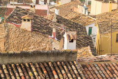 Tiled rooftops Stock Photo