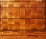 Tiled Room. A tiled room background. Please visit my portfolio for more great backgrounds Royalty Free Stock Images