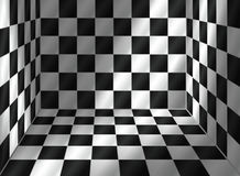 Tiled room. With incidence of light (from Stock Photos