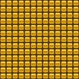 Tiled seamless golden vector background Stock Photo