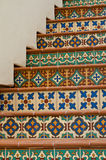 Tiled Staircase Royalty Free Stock Images