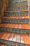 Tiled stairway, Tlaquepaque in Sedona, Arizona Royalty Free Stock Photography