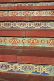 Tiled steps Stock Photo