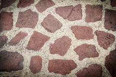 Tiled stones background Stock Images