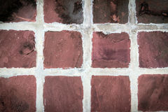 Tiled stones background Royalty Free Stock Photography