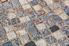 Tiled street Royalty Free Stock Images