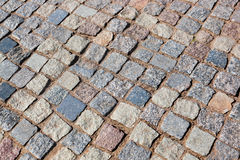 Tiled street Royalty Free Stock Photography