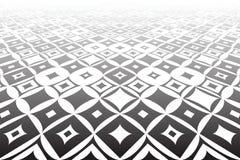 Tiled surface. Geometric background. Stock Photography